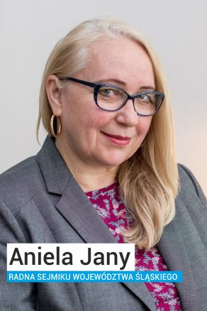 Aniela Jany radna Sejmiku Województwa Śląskiego z Ruchu Autonomii Śląska
