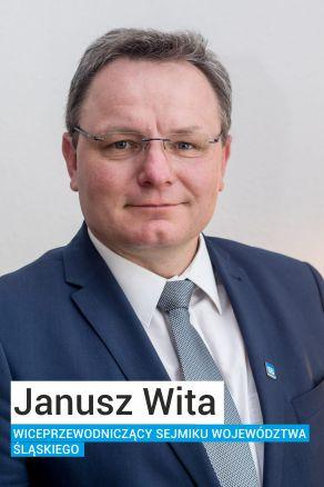 Janusz Wita Wiceprzewodniczący Sejmiku Województwa Śląskiego z Ruchu Autonomii Śląska