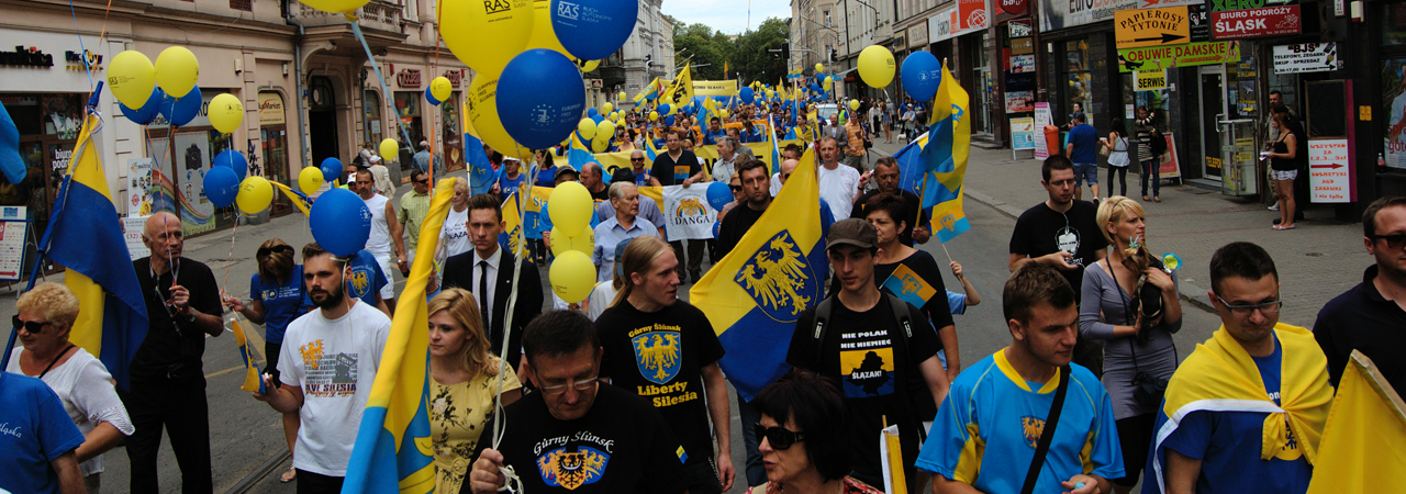 Tłumy podczas Marsz Autonomii 2012