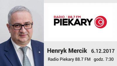 Henryk Mercik Radio Piekary 6.12