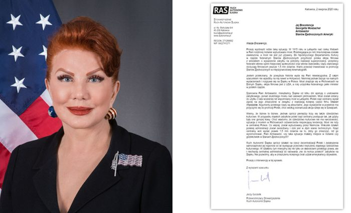 Apel do Georgette Mosbacher